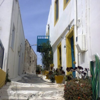 The alleys of Leros
